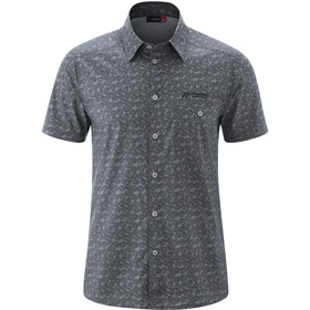 Maier Sports Lorcan Chemise manches courtes Homme, grey allover
